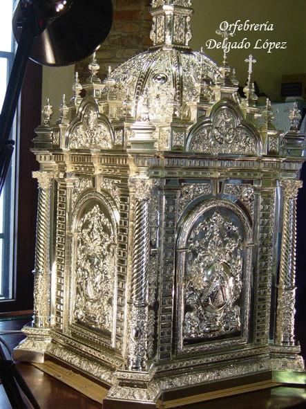 Sagrario para la Capilla Sacramental de la Hermandad de la Macarena